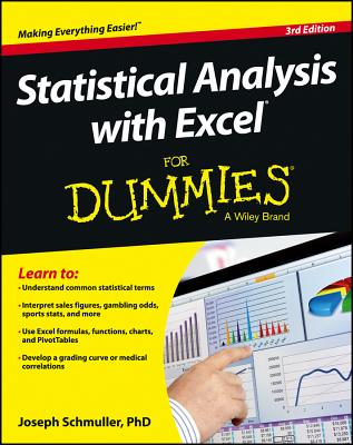 Statistical Analysis with Excel For Dummies - Schmuller, Joseph