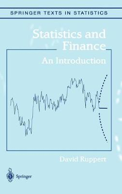 Statistics and Finance: An Introduction - Ruppert, David