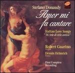 Stefano Donaudy: Amor mi fa cantare