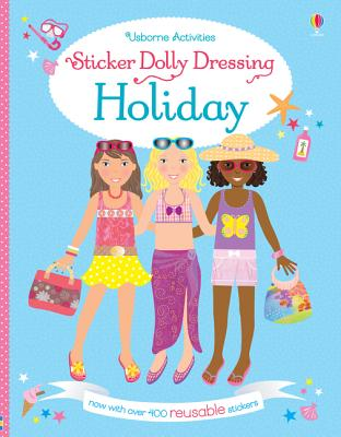 Sticker Dolly Dressing on Holiday - Bowman, Lucy