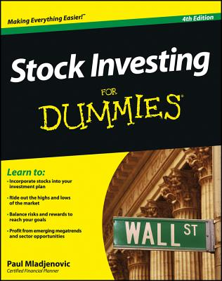 Stock Investing For Dummies - Mladjenovic, Paul
