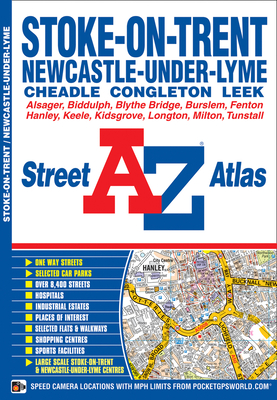 Stoke On Trent Street Atlas - Geographers' A-Z Map Company