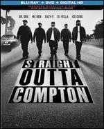 Straight Outta Compton [SteelBook] [Includes Digital Copy] [Blu-ray/DVD]