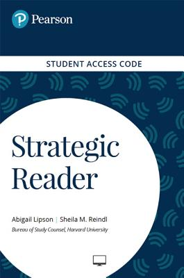 Strategic Reader -- Standalone Access Card - Pearson Education, and Lipson, Abigail, and Reindl, Sheila