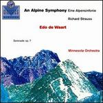 Strauss: Alpine Symphony; Serenade for winds