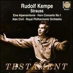 Strauss: Eine Alpensinfonie; Horn Concerto No. 1