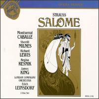 Strauss: Salome - David Kelly (bass); David Lennox (tenor); Dennis Wicks (bass); Elizabeth Bainbridge (vocals); George MacPherson (bass);...