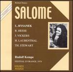 Strauss: Salome - Gerard Friedmann (vocals); Horst R. Laubenthal (vocals); Jon Vickers (vocals); Jurgen Forster (vocals);...