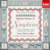 Strauss: Simplicius - Cheyne Davidson (vocals); Elizabeth Magnuson (vocals); Liliana Nikiteanu (vocals); Louis Martini (vocals);...