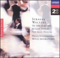 Strauss Waltzes - Wiener Philharmoniker; Willi Boskovsky (conductor)