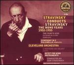 Stravinsky Conducts Stravinsky: The Mono Years 1952-1955