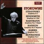 Stravinsky, Hindemith, Hartmann, Hanson, Harris, Hovhaness: Symphonies