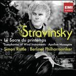 Stravinsky: Le Sacre du printemps; Symphonies of Wind Instruments; Apollon musagète