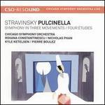 Stravinsky: Pulcinella; Symphony in Three Movements; Four Études