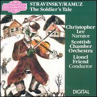 Stravinsky / Ramuz: The Soldier's Tale - Christopher Lee; Gareth Newman (bassoon); John Steer (double bass); John Tunnell (violin); Lewis Morrison (clarinet);...
