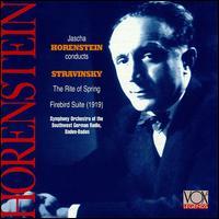 Stravinsky: The Rite of Spring / The Firebird Suite - SWR Baden-Baden and Freiburg Symphony Orchestra; Jascha Horenstein (conductor)