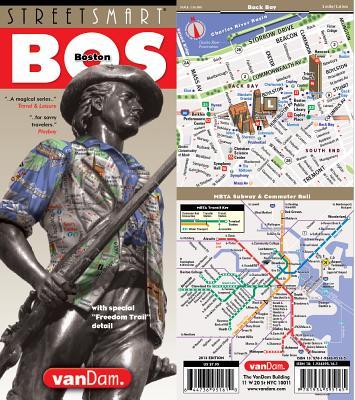 Streetsmart Boston Map by Vandam - Van Dam, Stephan (Editor)