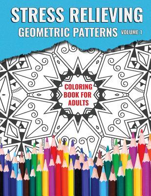 Stress Relieving Geometric Patterns - Books, Mary S, and Designs, Ausdigipix (Designer)