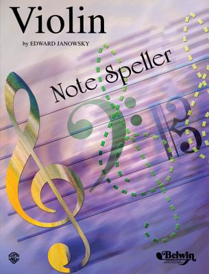 String Note Speller: Violin - Janowsky, Edward