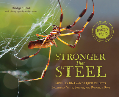 Stronger Than Steel: Spider Silk DNA and the Quest for Better Bulletproof Vests, Sutures, and Parachute Rope - Heos, Bridget