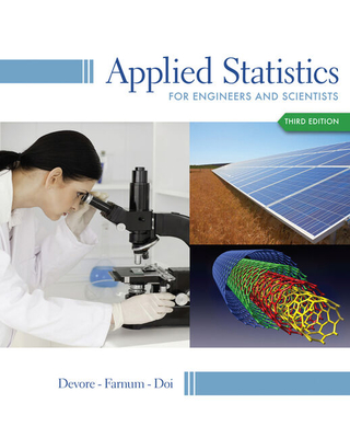 Student Solutions Manual for Devore/Farnum/Doi's Applied Statistics for Engineers and Scientists, 3rd - DeVore, Jay L, and Farnum, Nicholas R, and Doi, Jimmy A