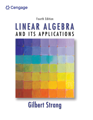 Student Solutions Manual for Strang's Linear Algebra and Its Applications, 4th - Strang, Gilbert