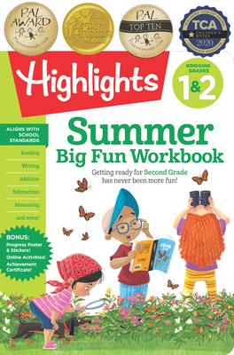 Summer Big Fun Workbook Bridging Grades 1 & 2 - Highlights Learning (Creator)