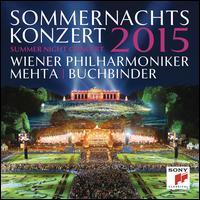 Summer Night Concert, 2015 - Rudolf Buchbinder (piano); Wiener Philharmoniker; Zubin Mehta (conductor)