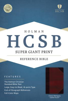 Super Giant Print Reference Bible-HCSB - Broadman & Holman Publishers (Creator)