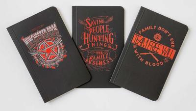 Supernatural Pocket Notebook Collection (Set of 3) - Insight Editions