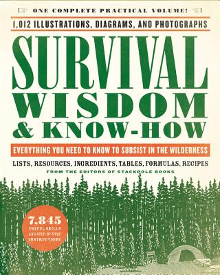 Survival Wisdom & Know-How: Everything You Need to Know to Subsist in the Wilderness - The Editors of Stackpole Books