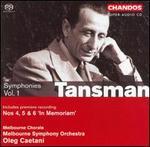 Tansman: Symphonies, Vol. 1