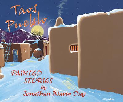 Taos Pueblo Painted Stories - Warm Day, Jonathan