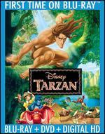 Tarzan [2 Discs] [Includes Digital Copy] [Blu-ray/DVD] - Chris Buck; Kevin Lima