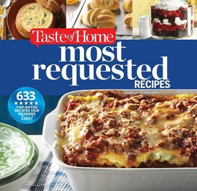 Taste of Home Most Requested Recipes: 633 Top-Rated Recipes Our Readers Love! - Taste of Home Books, and Cassidy, Catherine