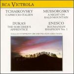 Tchaikovsky: Caprissio italien; Mussorgsky: A Night on Bald Mountain; Dukas: The Sorcerer's Apprentice