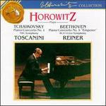 """Tchaikovsky: Concerto No.1; Beethoven: Concerto No. 5 """"Emperor"""""""