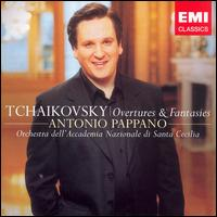 Tchaikovsky: Overtures & Fantasies - Alessandro Carbonare (clarinet); Banda Musicale della Polizia di Stato; Mark Stone (vocals); Nikola Matisic (vocals);...