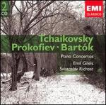 Tchaikovsky, Prokofiev, Bartók: Piano Concertos