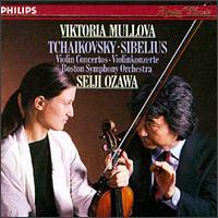 Tchaikovsky, Sibelius: Violin Concertos - Viktoria Mullova (violin); Boston Symphony Orchestra; Seiji Ozawa (conductor)