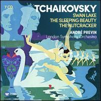 Tchaikovsky: Swan Lake; The Sleeping Beauty; The Nutcracker - Douglas Cummings (cello); Ida Haendel (violin); John Brown (violin); Ambrosian Singers (choir, chorus);...