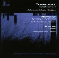 "Tchaikovsky: Symphony No. 4; Prokofiev: Symphony No. 1 ""Classical""; Scriabin: R�verie -"