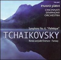 "Tchaikovsky: Symphony No. 6 ""Pathétique""; Romeo and Juliet Fantasy Overture - Cincinnati Symphony Orchestra; Paavo Järvi (conductor)"