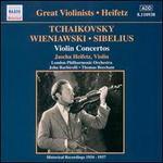 Tchaikovsky, Wieniawski, Sibelius: Violin Concertos