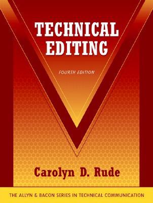 Technical Editing - Rude, Carolyn