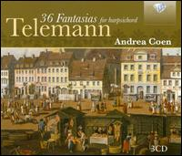 Telemann: 36 Fantasias for Harpsichord - Andrea Coen (harpsichord)