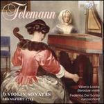 Telemann: 6 Violin Sonatas, Frankfurt 1715