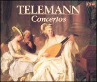 Telemann Concertos - Amsterdam Bach Soloists; Jed Wentz (flute); Jürgen Kussmaul (viola d'amore); Musica ad Rhenum; Paul Verhey (flute);...