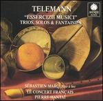"""Telemann: """"Essercizii Musici"""" Trios, Solos & Fantaisies"""