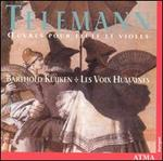 Telemann: Oeuvres pour Flûte et Violes